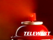 Telewest spray can ident 1990