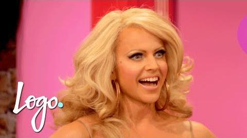 RuPaul's Drag Race (Season 8) Herstory 100 Queens In 100 Seconds Logo