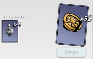 50 legacy coins