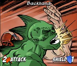Backhand-image