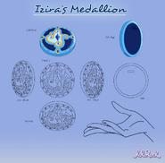 Modelsheet of Izira's Medallion