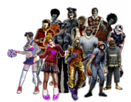 Lollipop Chainsaw Enemies Zombies