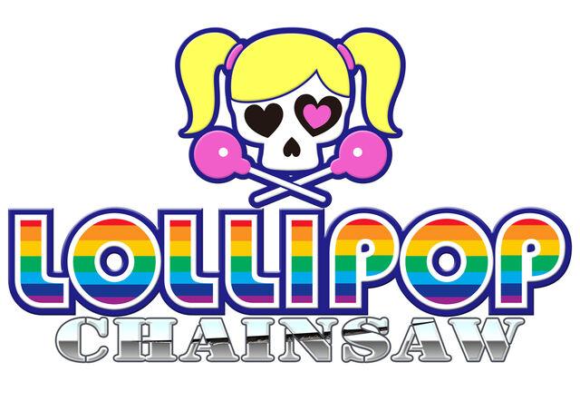 File:Lollipop Chainsaw Logo Splash Screen (White).jpg