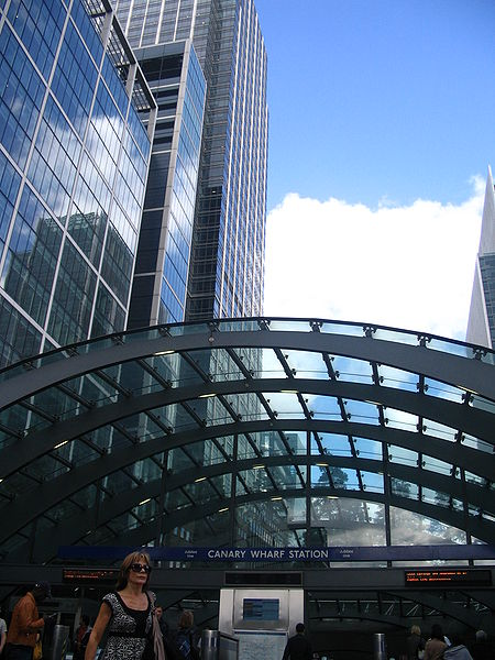 Canary Wharf Tube Station (West Entrance) 01