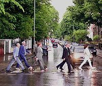 Cassini team Abbey road