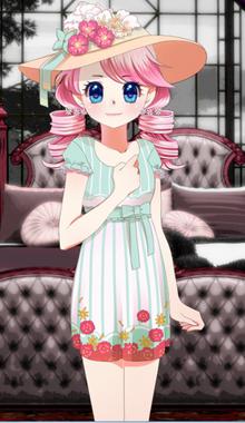 Tea dress small