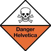 DANGER - HELVETICA