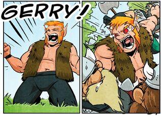 Notan slash Gerry