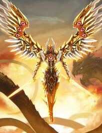 Golden Angel by pamansazz