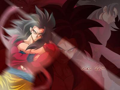 Goku SSJ4 by BlazeCK PL