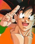 Goku peace