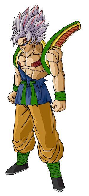 Baby Goku Second Form by hsvhrt