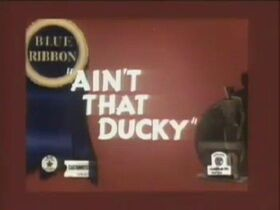 Aint That Ducky (1945)