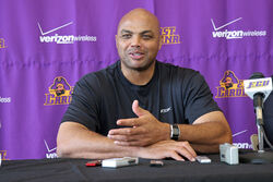 Charles Barkley at East Carolina University