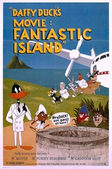 Daffy Duck's Fantastic Island Poster