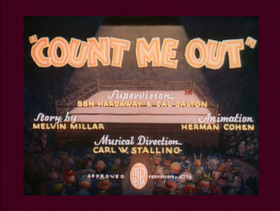 Count Me Out