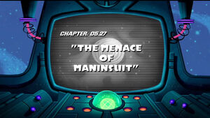 Lt the menace of maninsuit