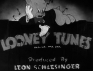 Looney Tunes logo (Porky's Cafe)
