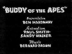 Buddy of the Apes (1934) 1