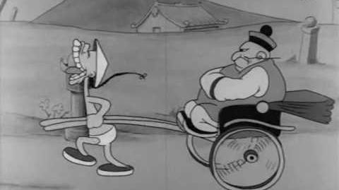 One Step Ahead of My Shadow (1933)