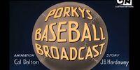 Porky's Baseball Broadcast