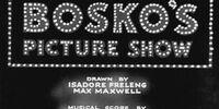 Bosko's Picture Show