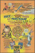 1995 Looney tunes honeycomb ad