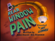 Rear Window Pain