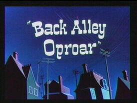 Back Alley Oproar
