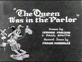 Queen was in the parlor