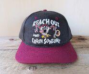 Vintage TAZ 1997 Washington Redskins NFL Looney Tunes Snapback Hat Football Cap