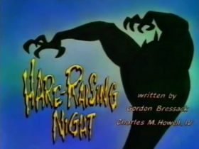 Hare-Raising Night title