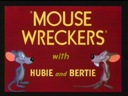 Mouse Wreckers title card