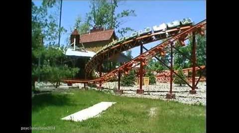 Roadrunner Express, Six Flags Worlds of Adventure 2001