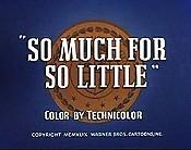 Much little