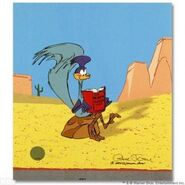 Road Runner reading