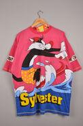 Tweety tee sylvester sweatshirt, tweety t-shirt (Front)