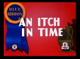 Itch in time blue ribbon