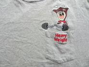 Vintage Taz Tasmanian Devil Pocket Tee T Shirt Warner Brothers