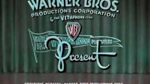 Merrie Melodies intro 1934