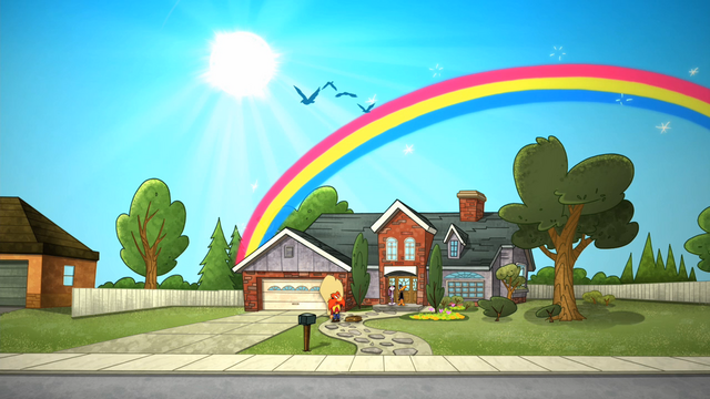 File:Sunny Day with a Rainbow.png
