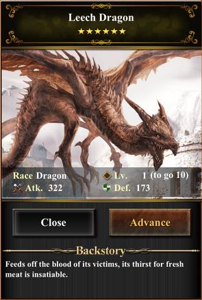 Card - Leech Dragon