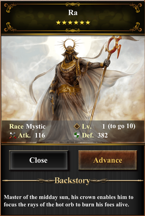 Card - Ra