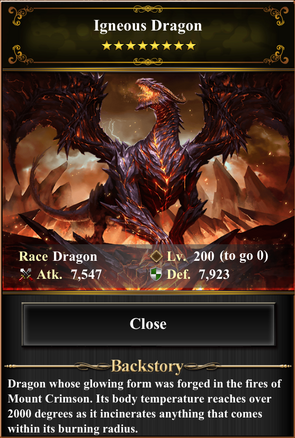 Card - Igneous Dragon-max
