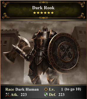 Card - Dark Rook