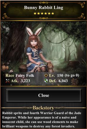 Card - Bunny Rabbit Ling-max