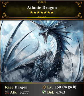 Card - Atlanic Dragon