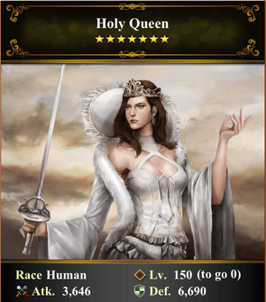 Card - Holy Queen