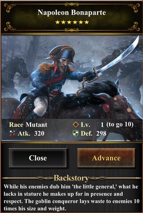 Card - Napoleon Bonaparte