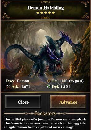 Demon Hatchling Level 100 (image)